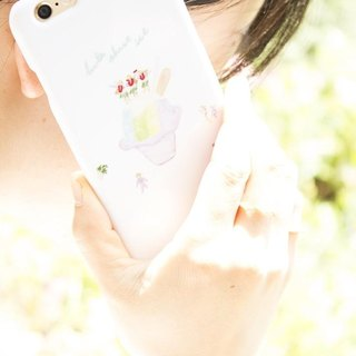 Price down due to renewal !!! 【iPhone 6 / 6S】 hula shave ice Smartphone case