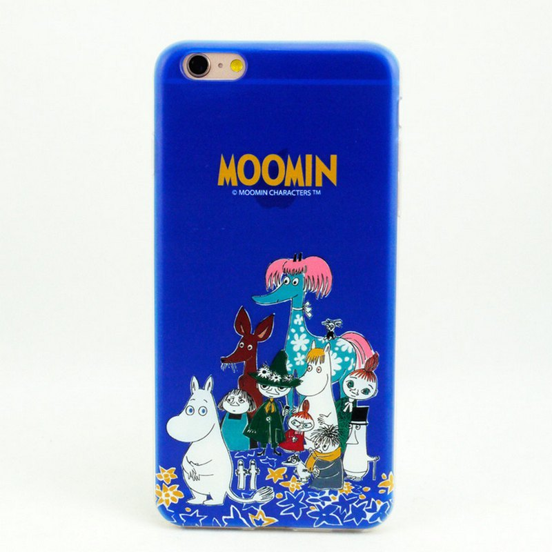 Moomin Moomin authorized - [Happy Collection] -TPU phone shell <iPhone/Samsung/HTC/ASUS/Sony/小米> AE64