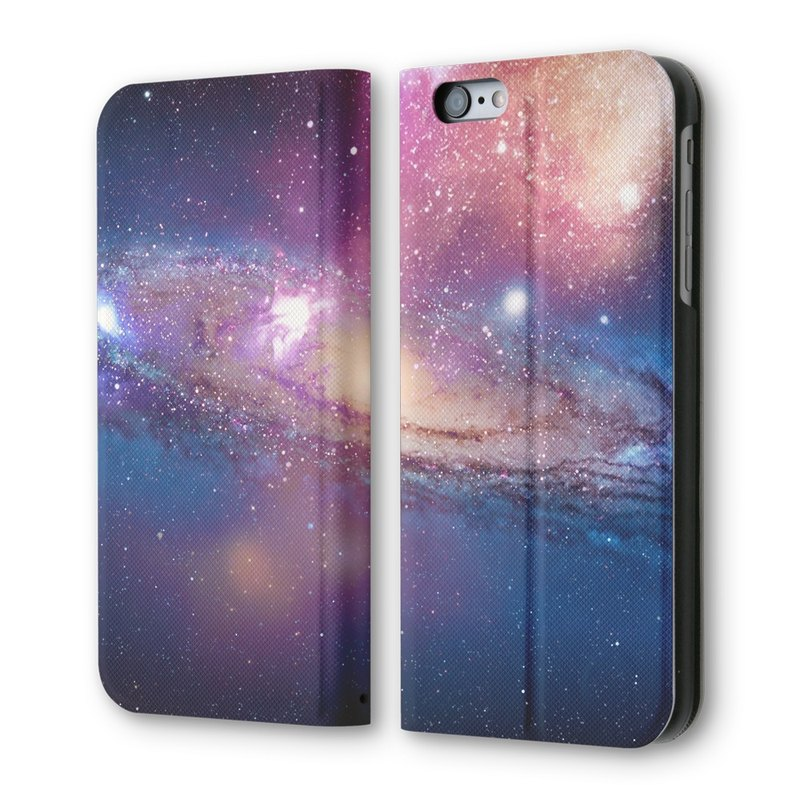 AppleWork iPhone 6/6S Vertical Flip Case Galaxy PSIB6S-036