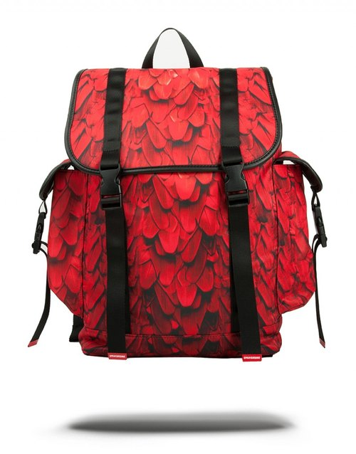 [SPRAYGROUND] RECON series Red Wing Red Wings after clamshell laptop Drawstring Backpack