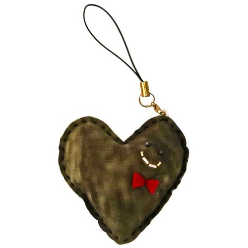 Jue Original Heart Key Holder / Ranch Scenery