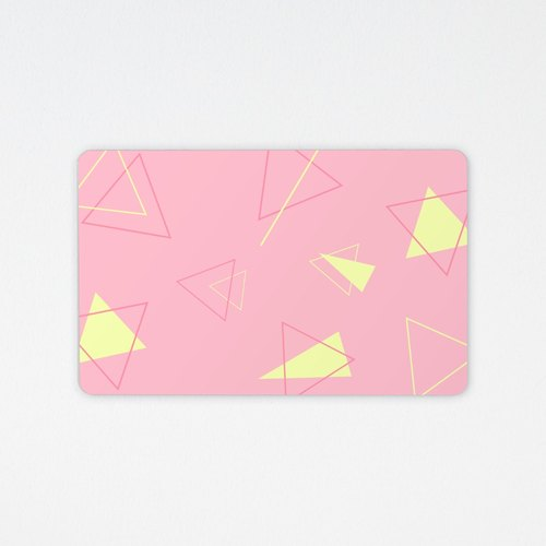 Pink geometric | Easycard practical gift (non-card attached)