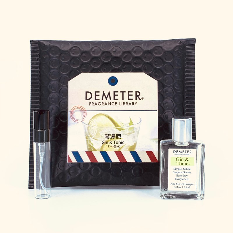 Smell Library Demeter [Gin Tony] Gin Tonic 15ml Wipe +5ml bottle combination
