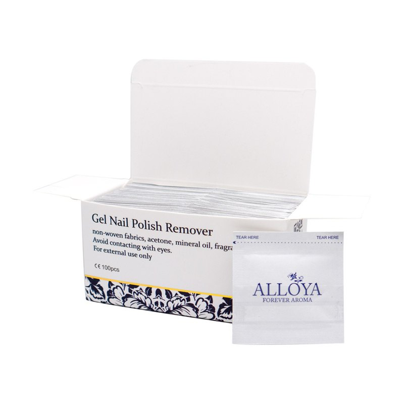 Nail pack / light nail polish glue 1 box of 100 tablets