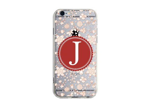 Letter J - Samsung S5 S6 S7 note4 note5 iPhone 5 5s 6 6s 6 plus 7 7 plus ASUS HTC m9 Sony LG G4 G5 v10 phone shell mobile phone sets phone shell phone case