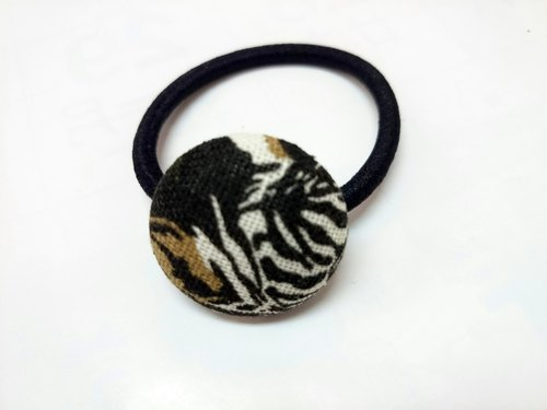 Withholding cloth headband dark green circle ~*SK*