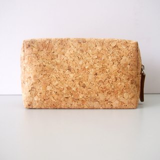 Cork Multipurpose Pouch Storage Cosmetic Bag Pencil Makeup Organizer