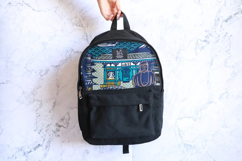 Backpack - Japanese Culture Print