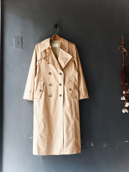 River tide_coat dustcoat jacket coat oversize vintage