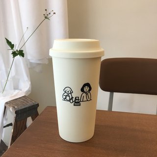 reusable cup | coffee time (500ml)