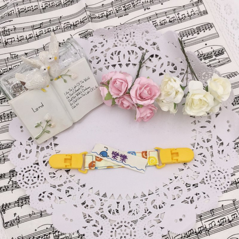 * Princess puff sugar - Hand-headed handkerchief ★ Universal clip clip pacifier clip ★ ★ ★ Name Article Kindergarten necessary Flag ★ E-8