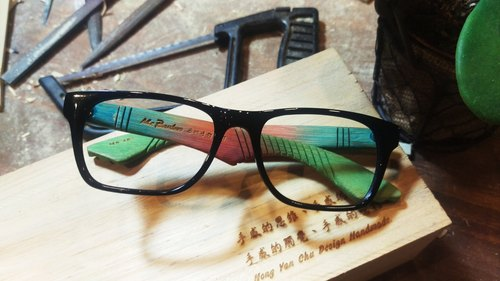 Taiwan handmade glasses MB dreamed of flying wing [of] action series exclusive feel art technology Aesthetics