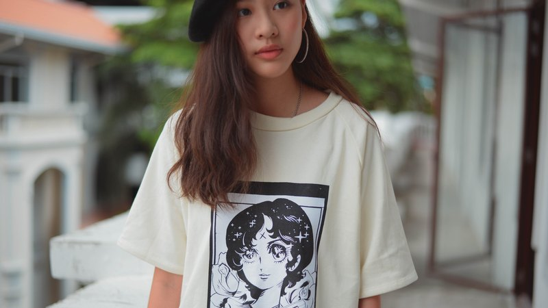 Highestjump manga t-shirt (white)