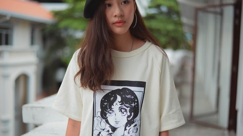 Highestjump manga white t-shirt