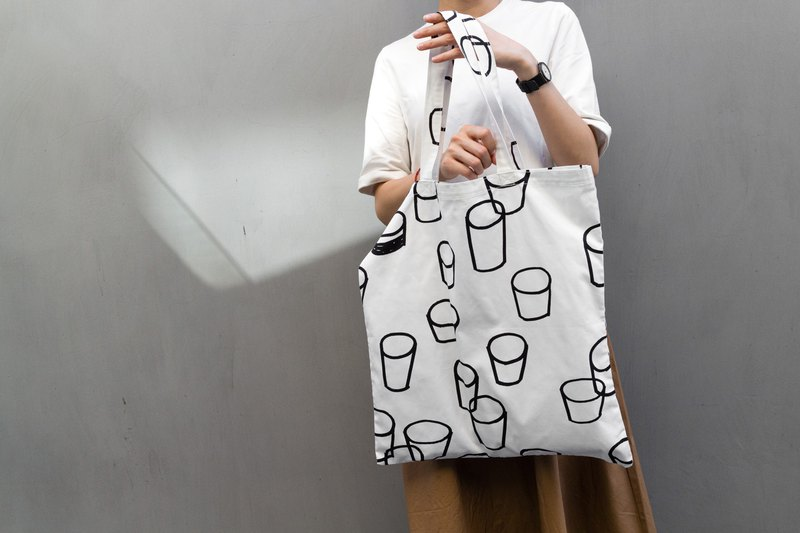 tote bag / glassdot
