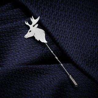 Deer Lapel Pin - Wedding Lapel Pin - Mens Lapel Pin - Custom Lapel Pin