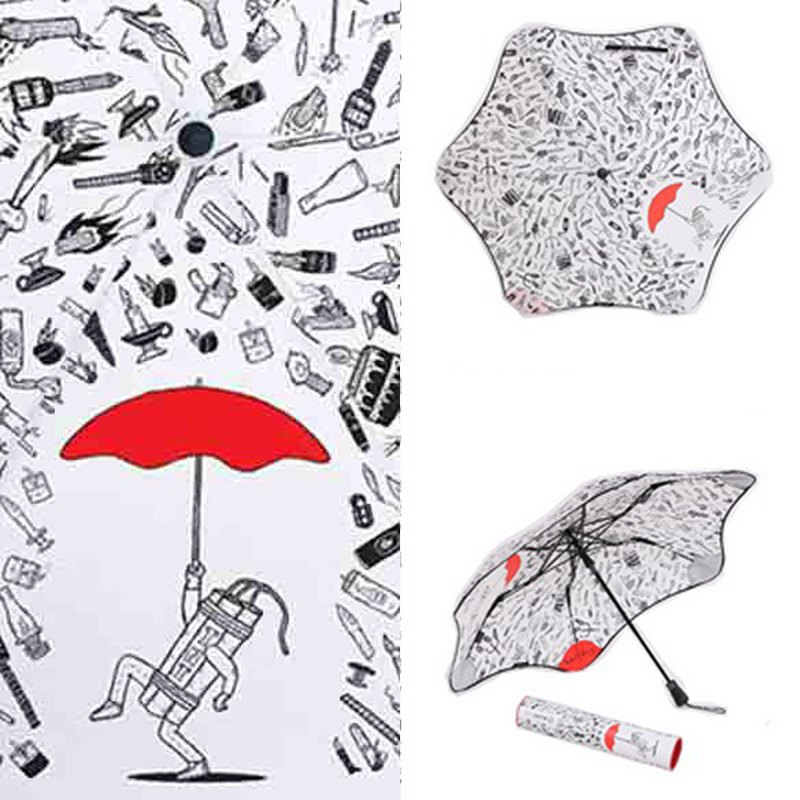 [BLUNT Paulland] anti-strong umbrella - Michael C Hsiung illustrations limited to parachute - bombs off