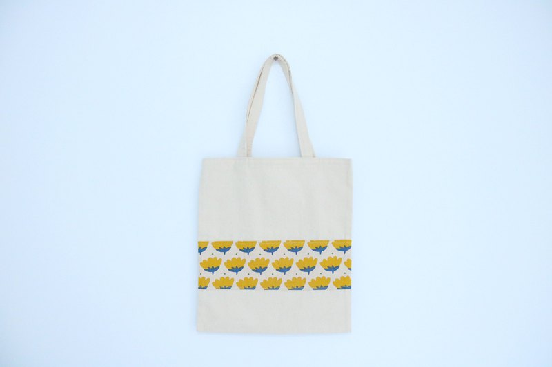 Canvas Shopping Bag-Garden series: Blossoming