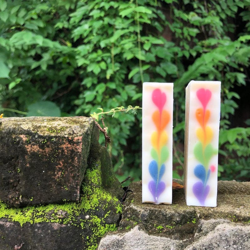 Rainbow soap after the rain ///book by appointment ///