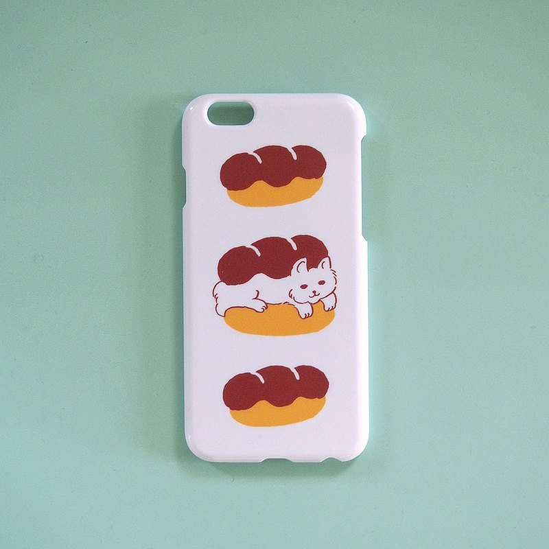Smart phone case - Cat & Bread -