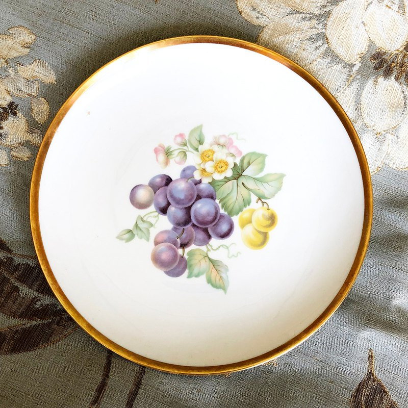 Lion kiln fruit snack plate