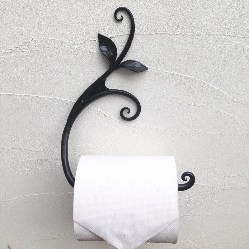 Vinegar toilet paper holder