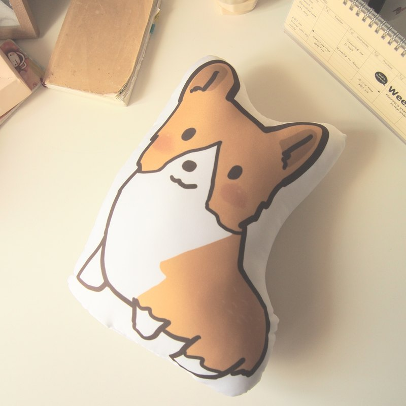 Corgi Cushion