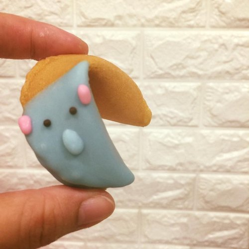 【Fortune Lucky Fortune Cookie: Elephant Fortune Cookie】 a group of six