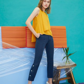 Layered Foldover Top (Yellow)