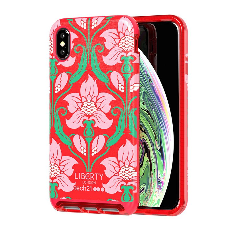 British Tech21 anti-collision leather protective shell joint commemorative models -Xs Max-Red (5056234706183)