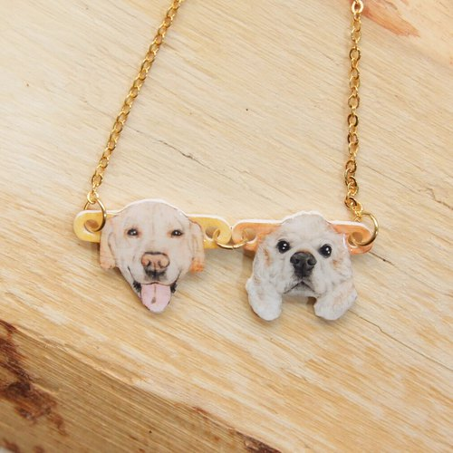 New Year's gift pet custom necklace Please confirm the time before payment