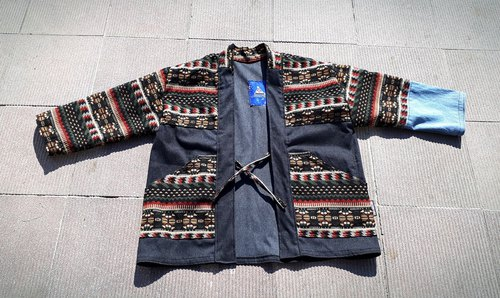 AMIN'S SHINY WORLD Handmade ethnic KIMONO patchwork blouse coat coat (custom color)