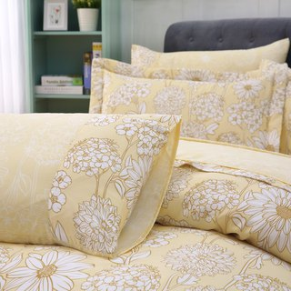 Extra large size sunflower dream - Tencel dual-use bedding set of six [100% lyocell] emperor fold