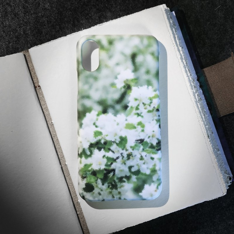 White flowers. Matte Case( iPhone, HTC, Samsung, Sony, LG, OPPO)