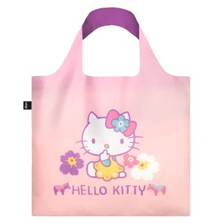 LOQI Shopping Bag - Sanrio License (Hello Kitty Nordic Pink Purple KT10)