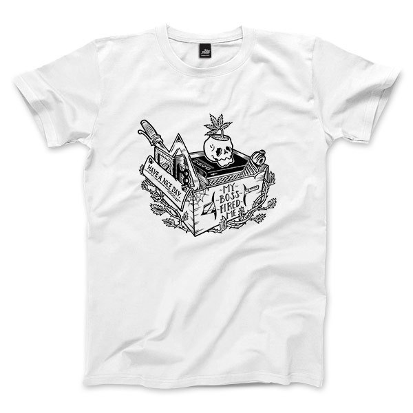 Not a nice day - White - Unisex T-Shirt