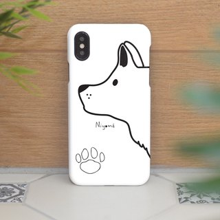 iphone case the Clean white dog for iphone5s,6s,6s plus, 7,7+, 8, 8+,iphone x