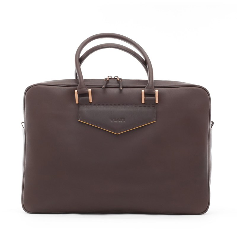 Clayley Gekko Bag (Leather Messenger/ Laptop/ Business Bag)