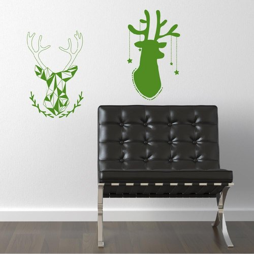 """Smart Design"" Creative Seamless wall stickers ◆ Star elk 8 color options"
