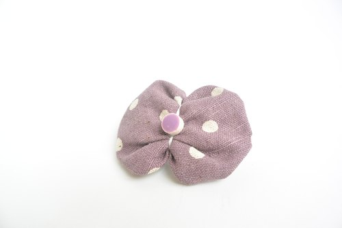 Butterfly hairpin - Purple Shuiyu