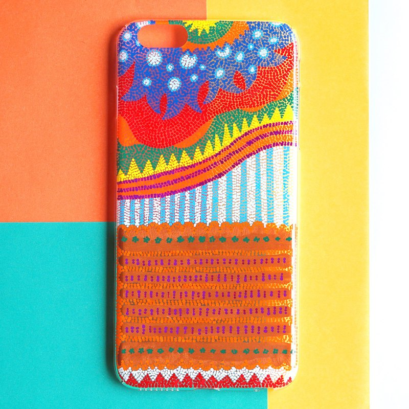 Hand painted case | The sun