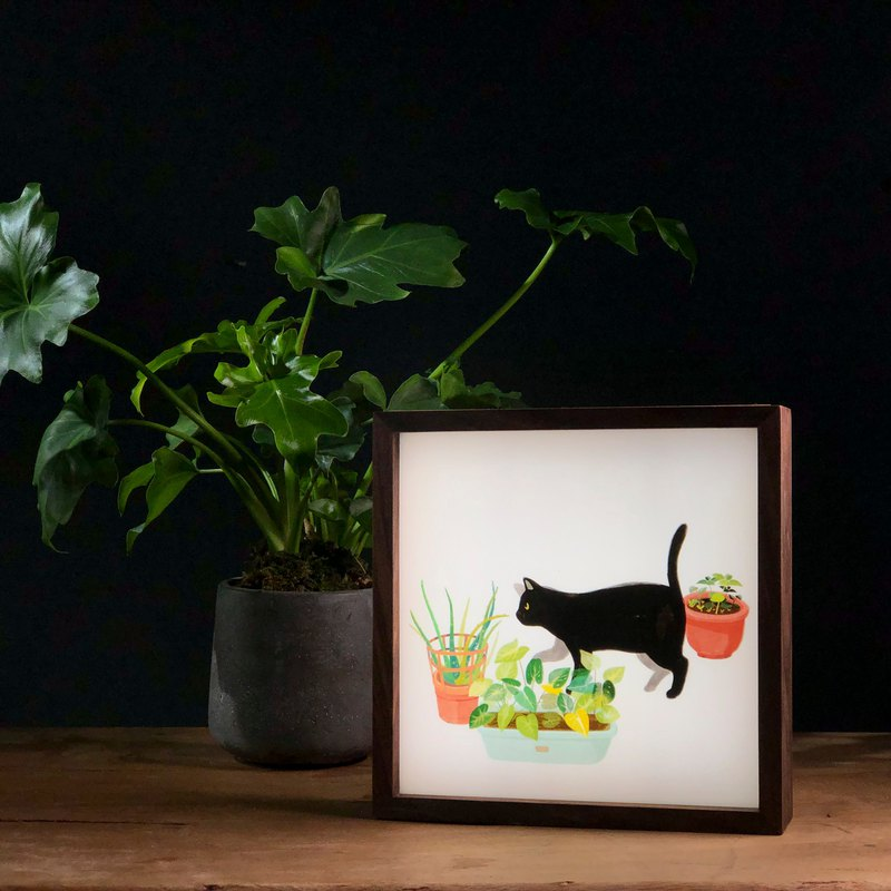Cat Healing Companion Light Box-ABOO YANG One Day I Will Leave The Series