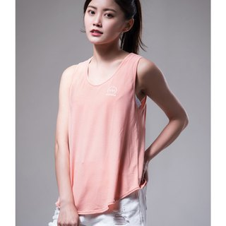 Aurora soft vest / pink orange