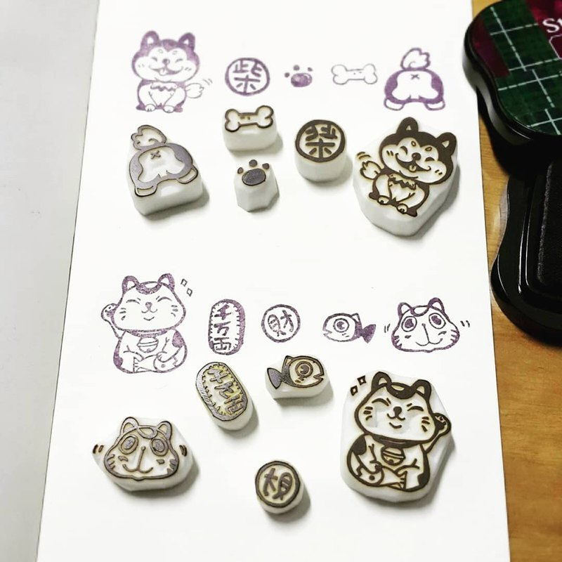 【Stamp】PET collection