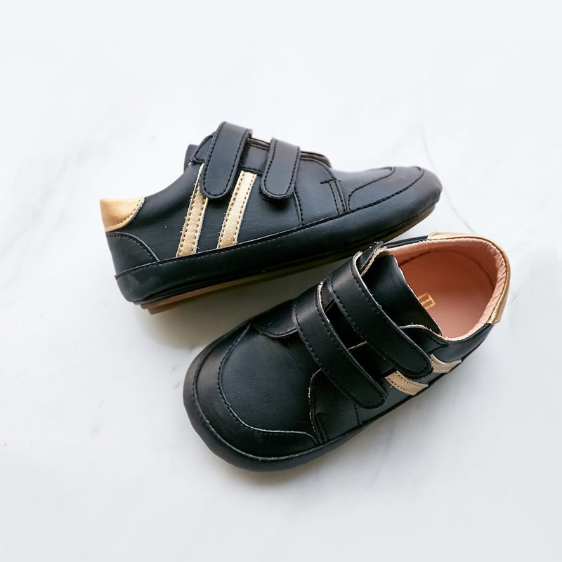 Casual Sports Baby Shoes - Dark Blue Black