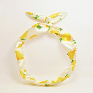 The original hand-made handmade pineapple rabbit ears hair band