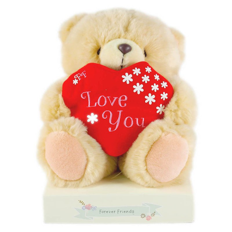 8-inch / love courier bear [Hallmark-ForeverFriends fluff - Lover Series]