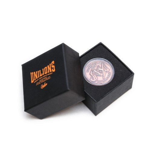 UNILIONS X Filter017 Liu Fu Hao (JAX) one hundred bombers limited edition commemorative coins