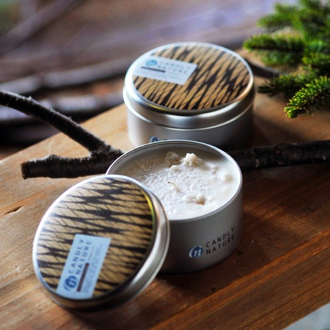 Hokkaido natural aroma candles (can) / Forest