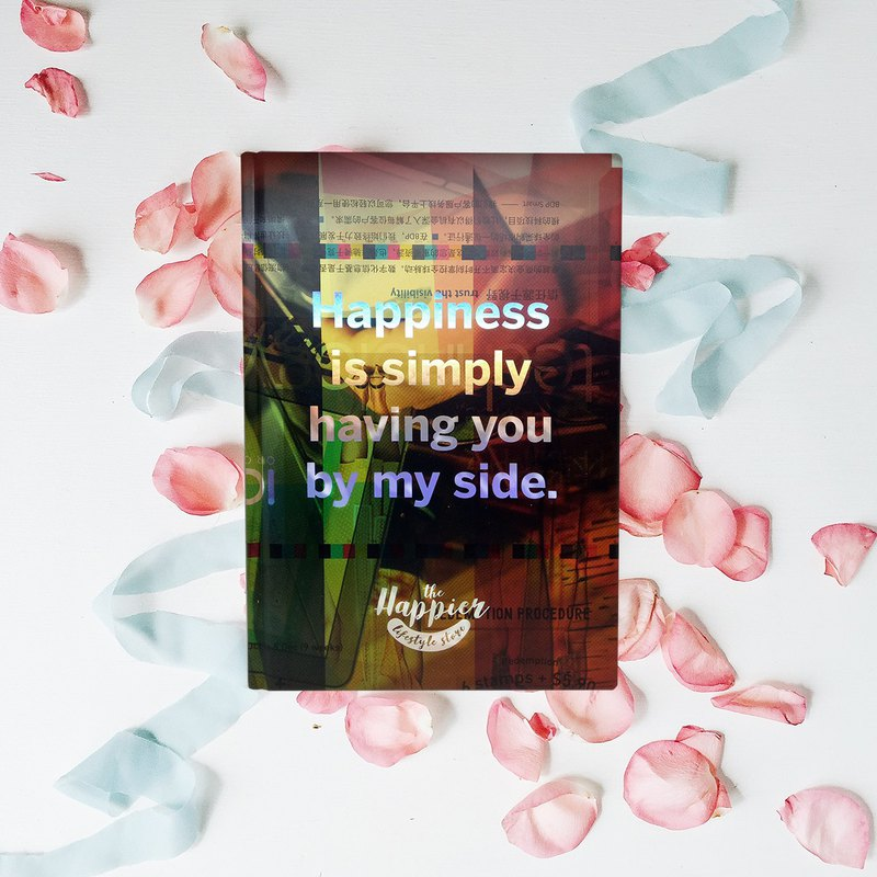 Mindset Republic Sketchbooks - Happiness is simply having you by my side.
